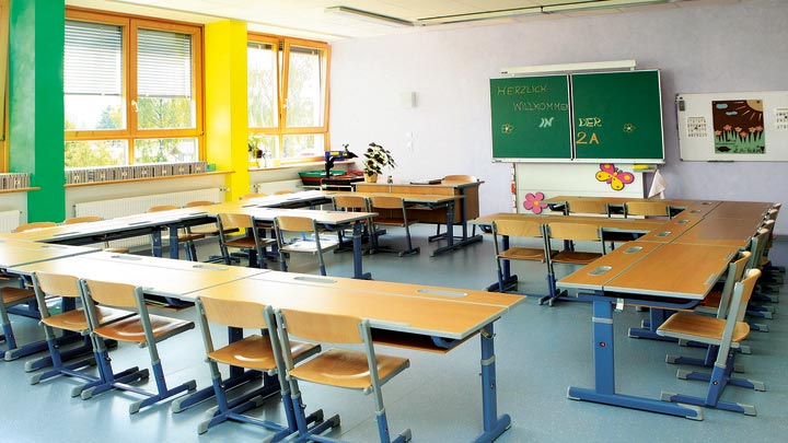 image of Philips UV-C luminaires for Schools