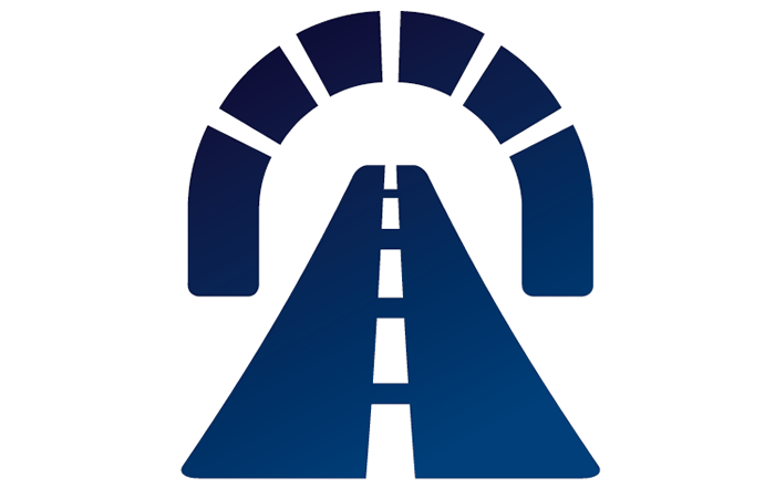 Icon for tunnel's luminaires