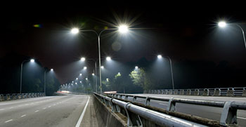 LED road lighting
