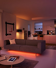 Philips Hue - smart home lighting